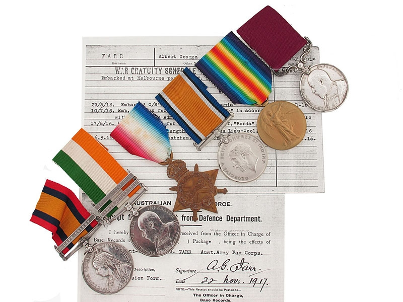 eMedals-Lieutenant-Colonel A.G. Farr - Australian Army Pay Corps