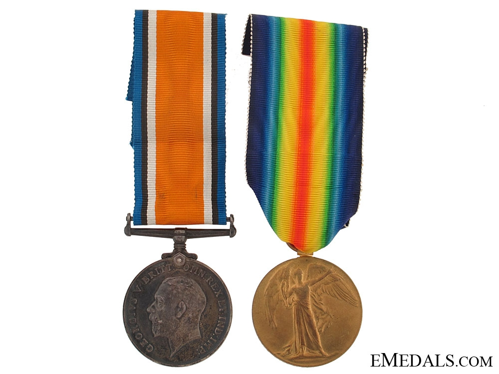 eMedals-Casualty Pair to the Scottish Rifles