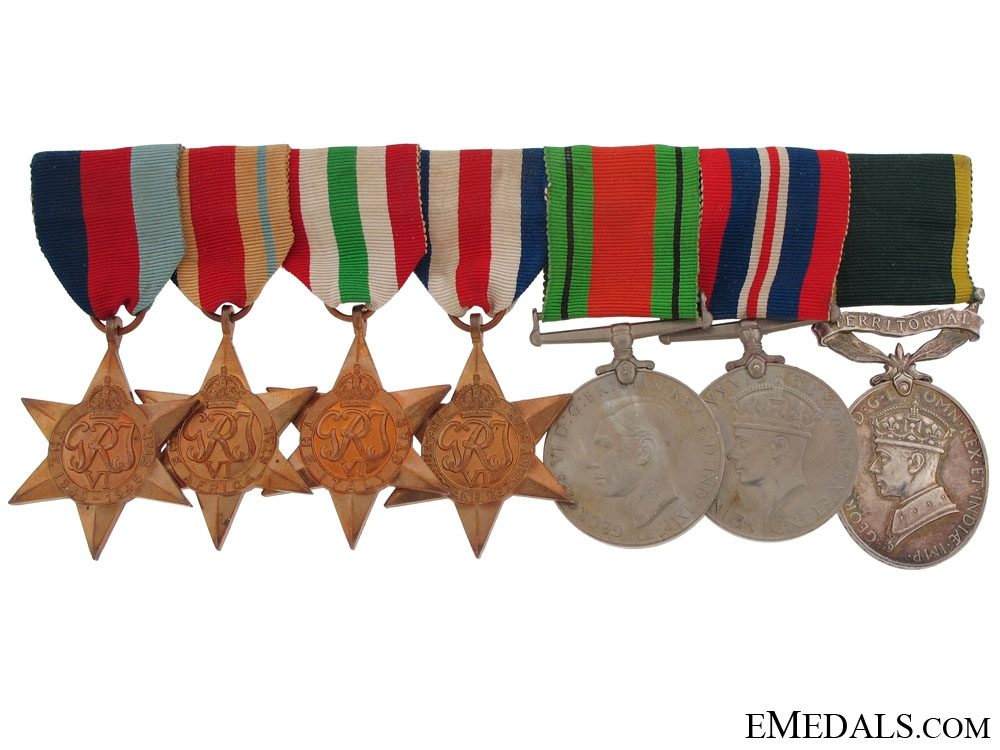 eMedals-WWII Group of Seven