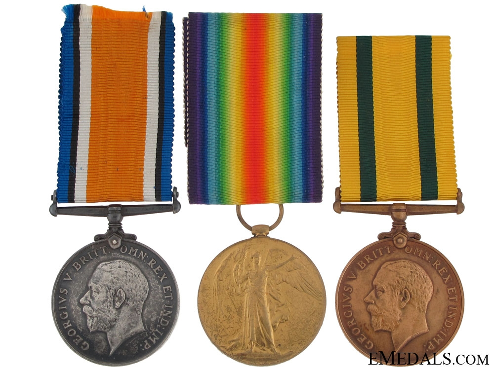 eMedals-A First War Territorial War Medal Group