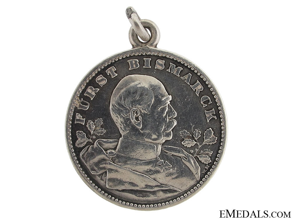 eMedals-Bismarck 80th Anniversary Medal 1815-1895