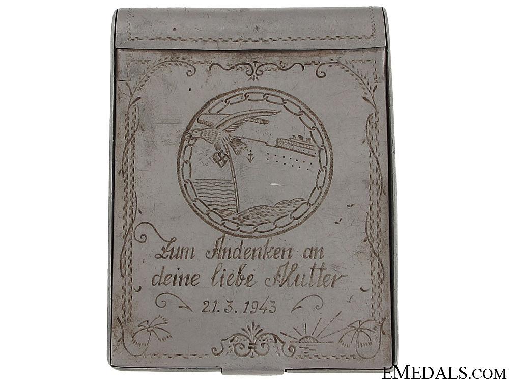 eMedals-Blockade Runner Badge Engraved Box