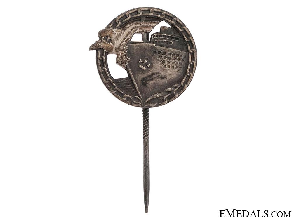 eMedals-Blockade Runner Badge - Reduced Version