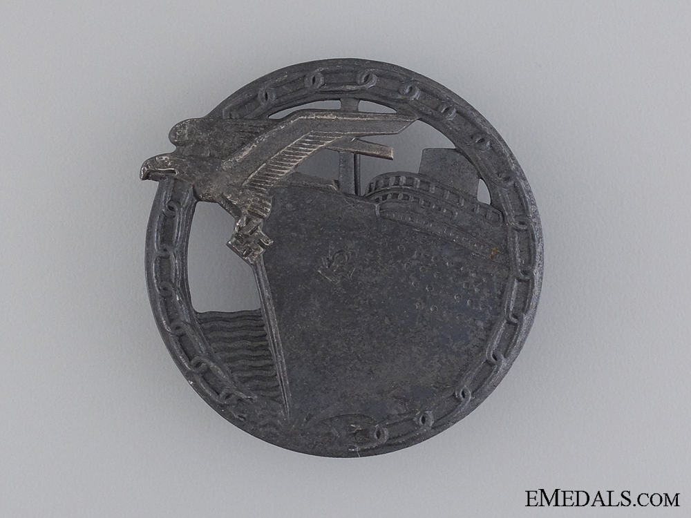 eMedals-Blockade Runner Badge; Unmarked