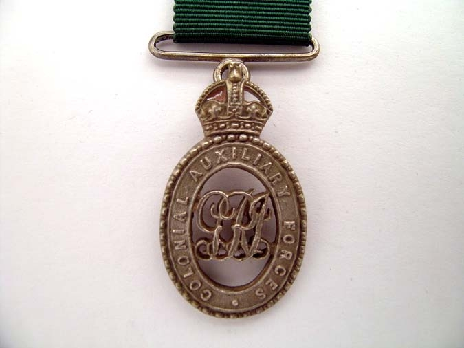 eMedals-MINIATURE COLONIAL AUX. FORCES OFFICERS'