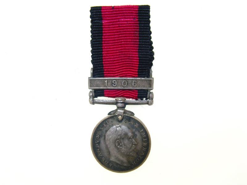 eMedals-Miniature Natal Rebellion Medal