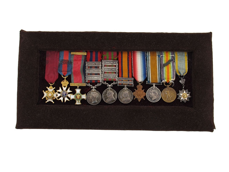 eMedals-The Miniature Awards of Brig.Gen. C.P.Scudamore