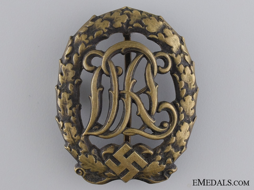 eMedals-Bronze Grade DRL Sport Badge; 3rd Model