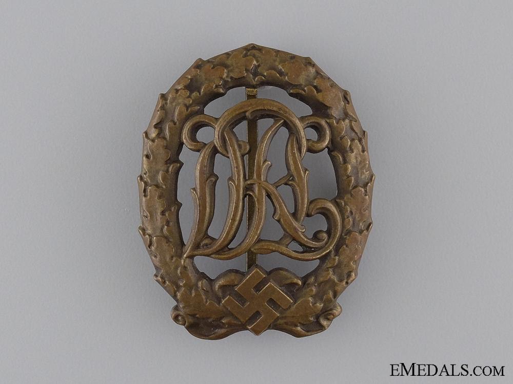 eMedals-Bronze Grade DRL Sport Badge; 3rd Model