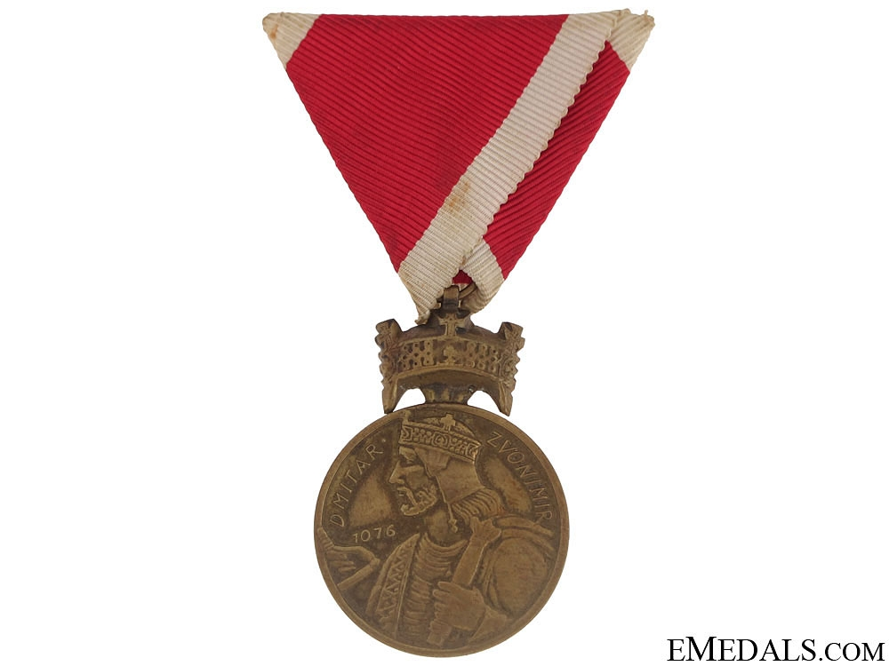 eMedals-Bronze Merit Medal of King Zvonimir