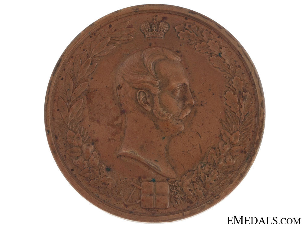 eMedals-Bronze Table Medal 1860