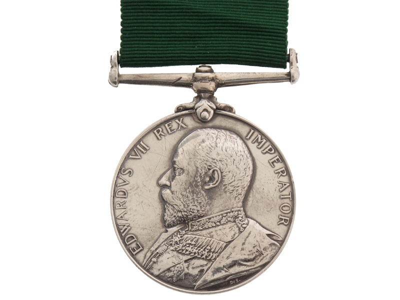 eMedals-Volunteer Long Service & Good Conduct Medal,