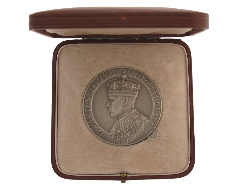eMedals-Edward VIII Commemorative Medal,
