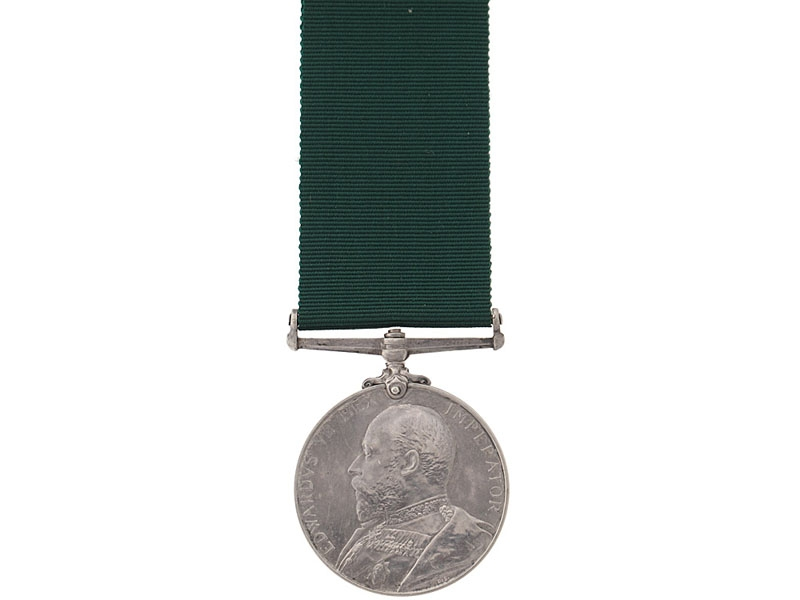 eMedals-Colonial Auxiliary Forces Long Service Medal