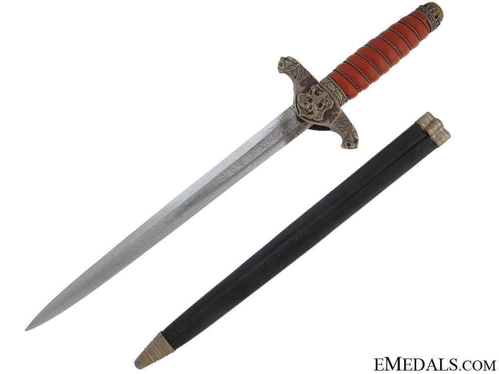 eMedals-Bulgarian Army Officer Dagger – R. Klaas