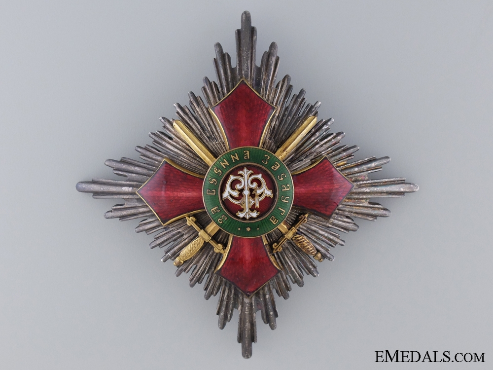 eMedals-Bulgarian Order of Military Merit; First Class Star