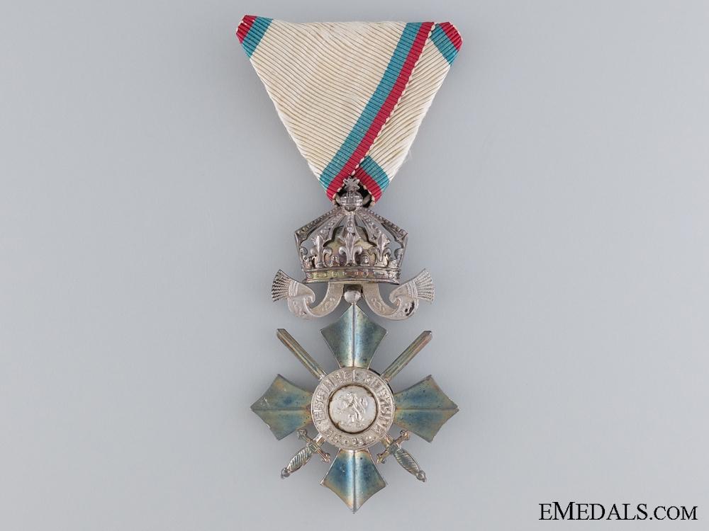 eMedals-Bulgarian Order of Civil Merit; Sixth Class Cross