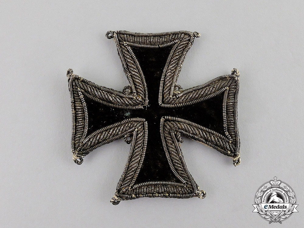eMedals-Prussia. An Extremely Rare 1813 Iron Cross 1st Class, Cloth Version