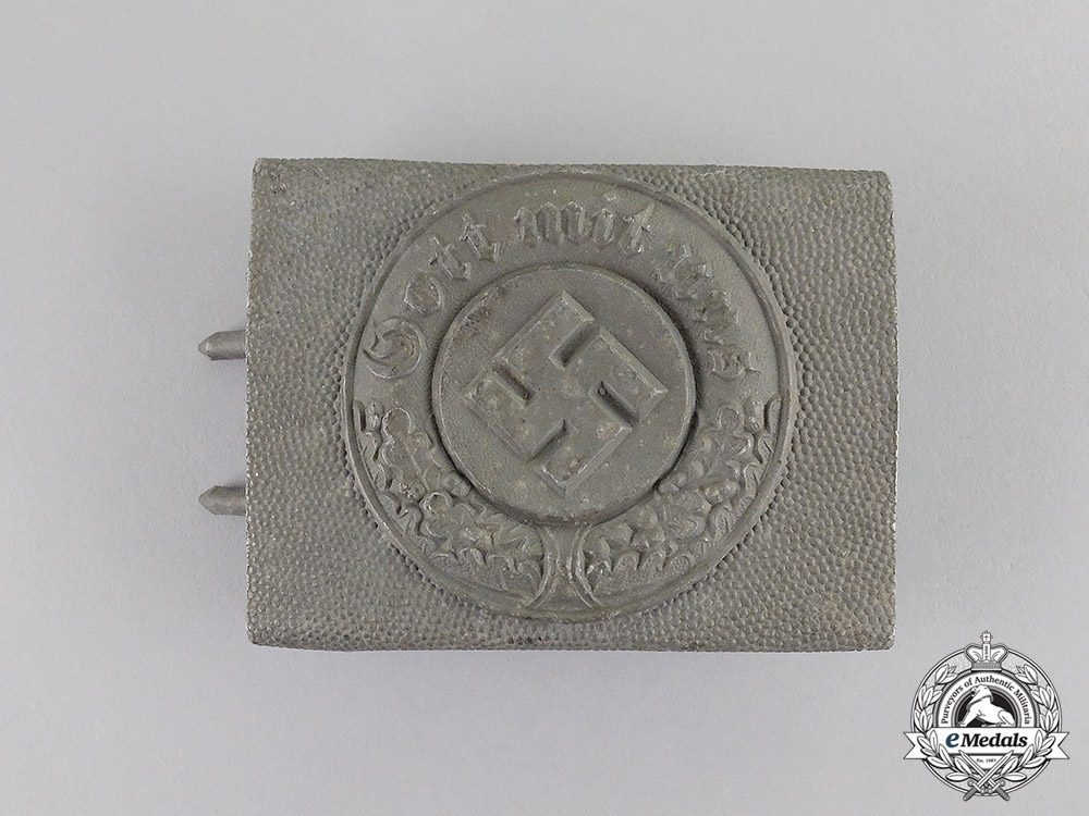 eMedals-Germany. A Police Standard Enlisted Man's Belt Buckle