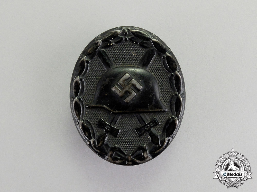 eMedals-Germany. A Black Grade Wound Badge by Steinhauer & Lück of Lüdenscheid