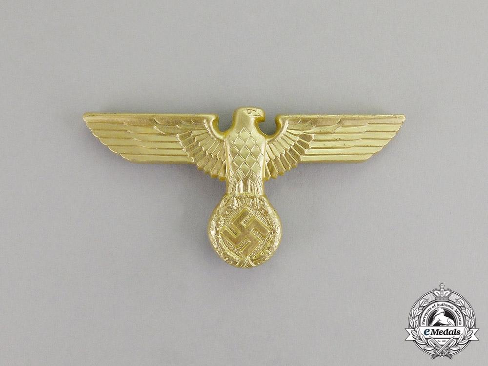 eMedals-Germany. A Mint Third Reich Period NSDAP/Political Cap Eagle