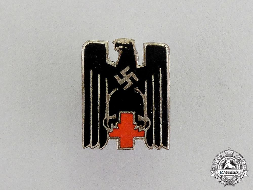 eMedals-Germany. A DRK German Red Cross Miniature Membership Badge