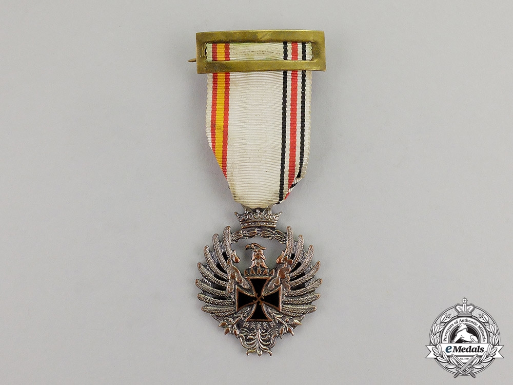 eMedals-Spain. A Medal of the Spanish Blue Division; Russia Service