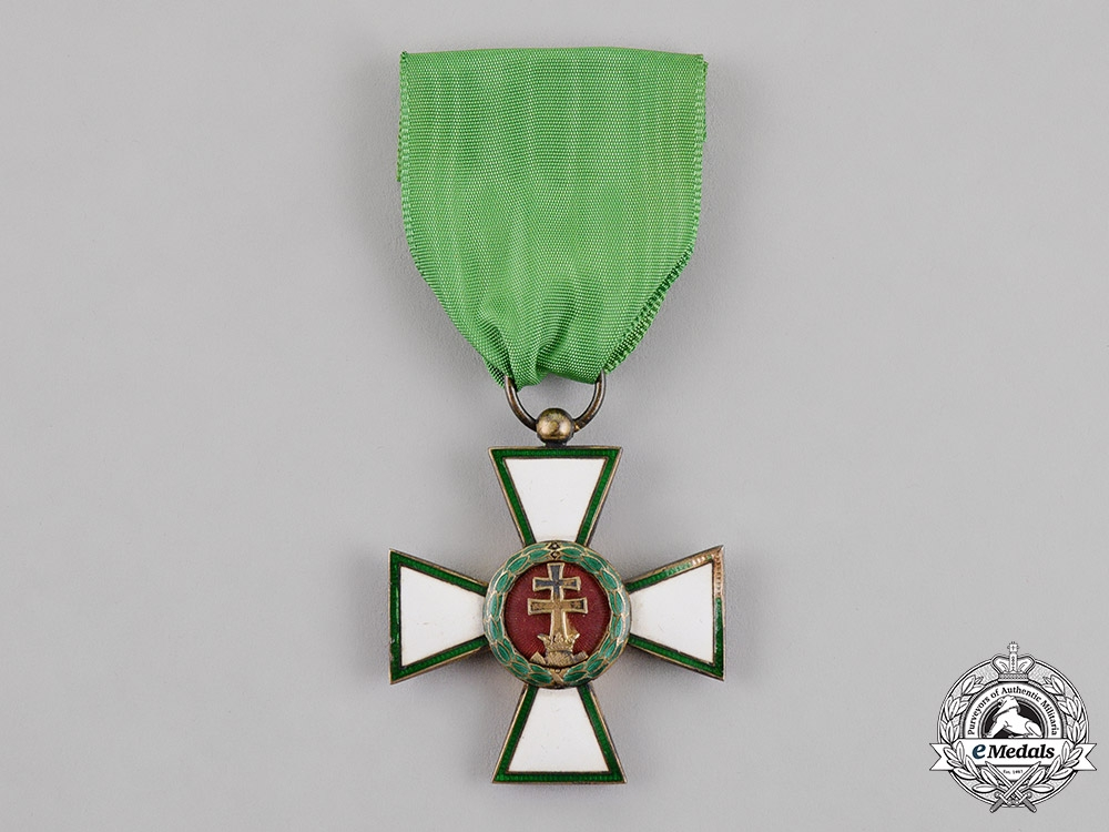 eMedals-Hungary, Kingdom. An Order of Merit, 4th Class Knight, c. 1910