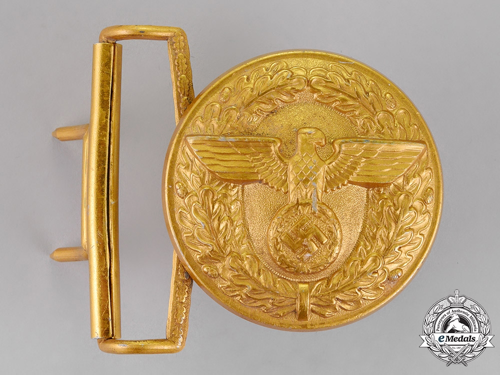 eMedals-Germany. A Belt Buckle for Political Leaders of the NSDAP, by Overhoff & Cie of Lüdenscheid