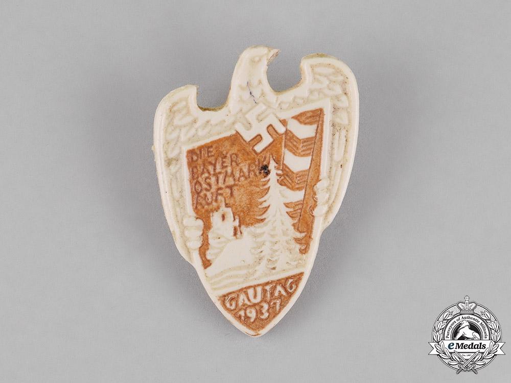eMedals-Germany. A Bavaria-Ostmark Regional Council Day Badge by Thomas Marktredwitz