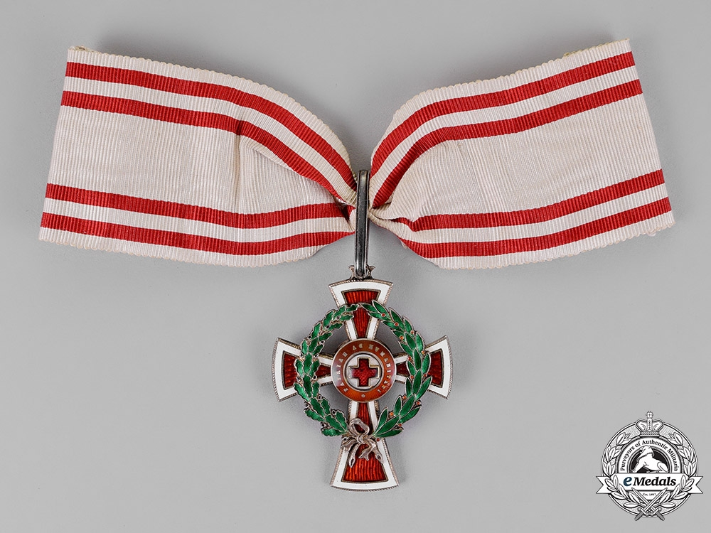 eMedals-Austria, Empire. An Austrian Red Cross Decoration, First Class, by Scheid