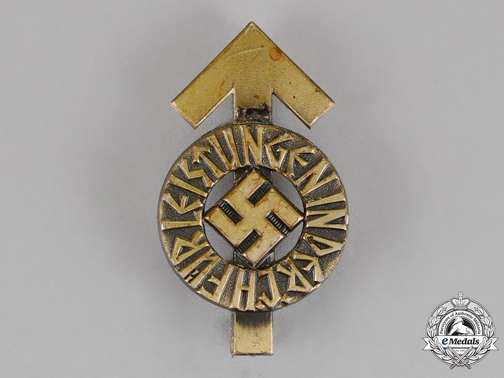 eMedals-Germany. An HJ Silver Grade Proficiency Badge