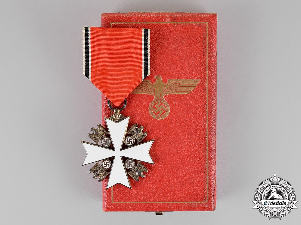 eMedals-Germany. A Mint Cased Order of the German Eagle, Fifth Grade, by Godet & Co.