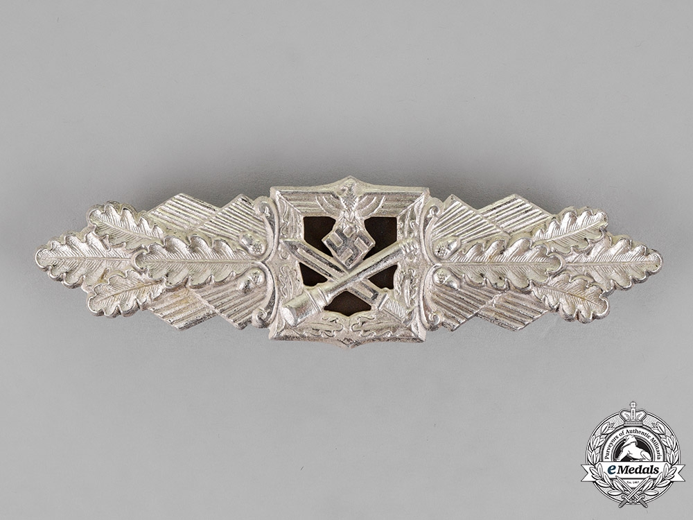 eMedals-Germany. A Silver Grade Close Combat Clasp by Funcke & Brüninghaus of Lüdenscheid