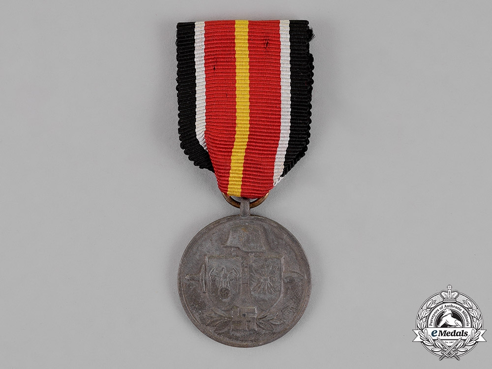 """eMedals- Germany. A 1944 Campaign Medal for the Spanish """"Blue Division"""" Volunteers in Russia"""