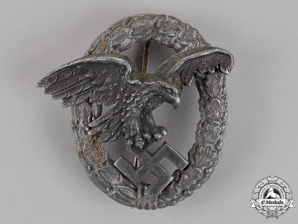eMedals-Germany, Luftwaffe. An Observer's Badge, by P. Meybauer, Berlin