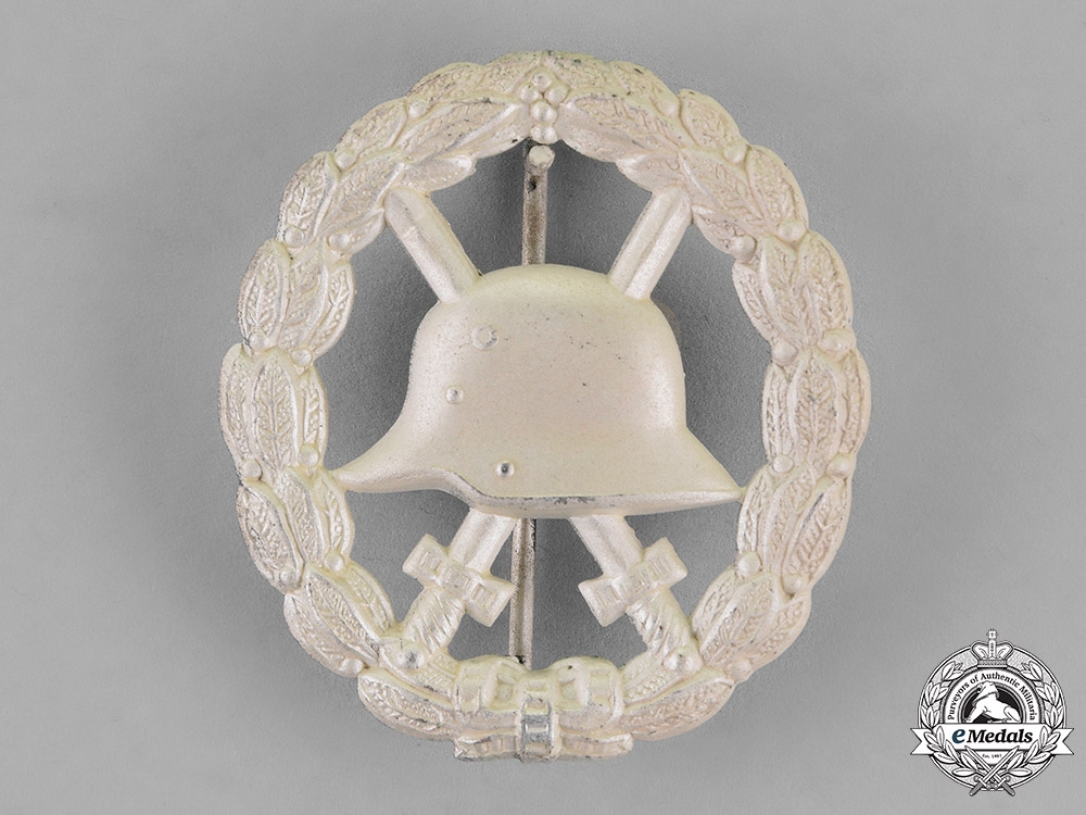 eMedals-Germany. A Wound Badge, Silver Grade, Magnetic, c.1916