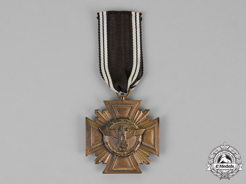 eMedals-Germany. A NSDAP Long Service Award For 10 Years of Service