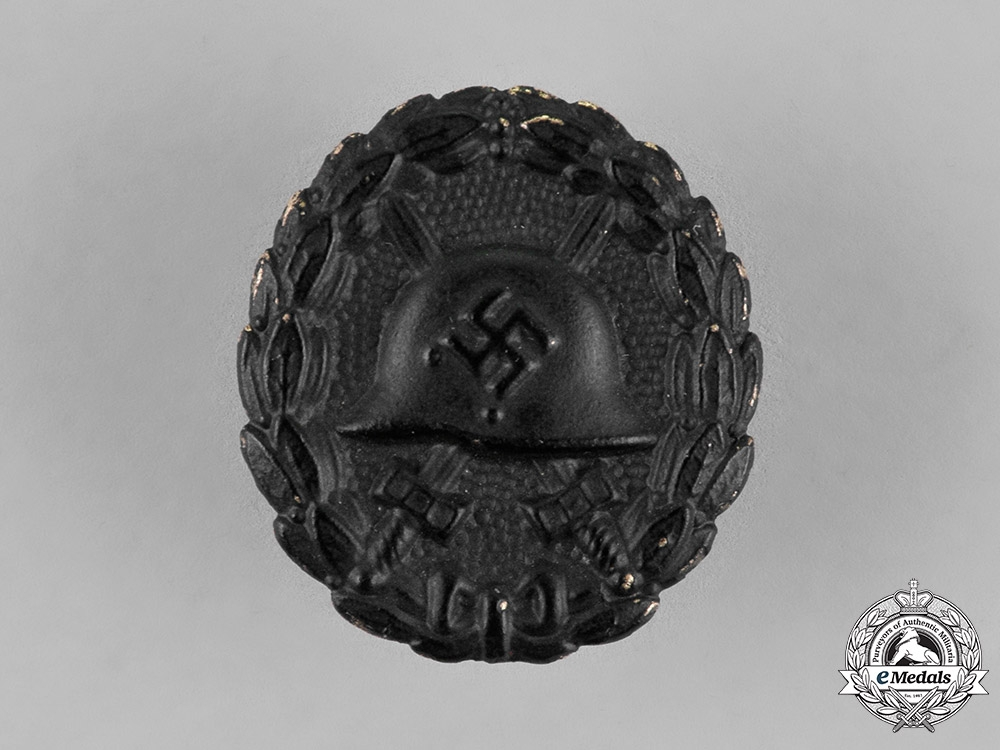 eMedals-Germany. A Wound Badge, Black Grade, Reduced Size
