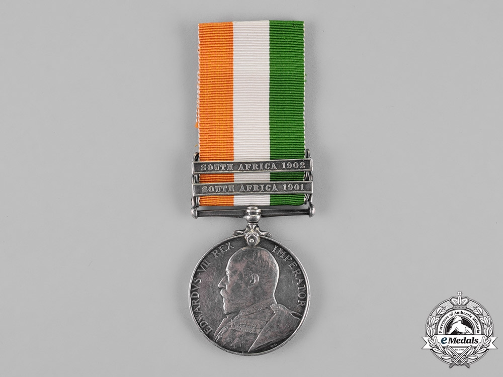 eMedals- Great Britain. A King's South Africa Medal 1901-1902, Norfolk Regiment