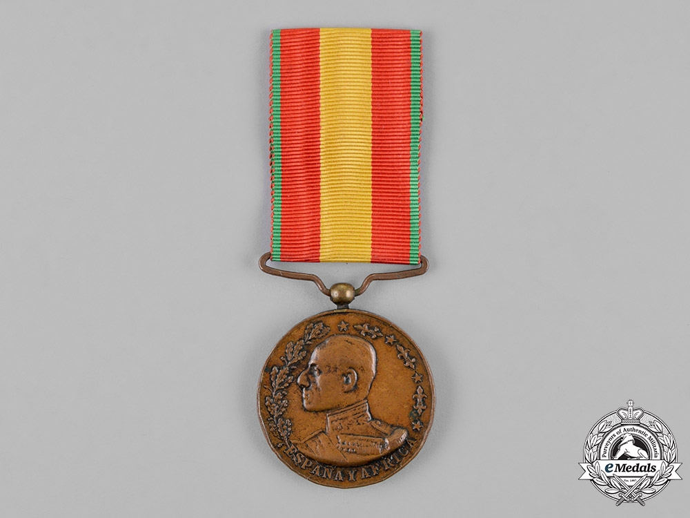 eMedals-Spain. A Medal for Africa, c.1912