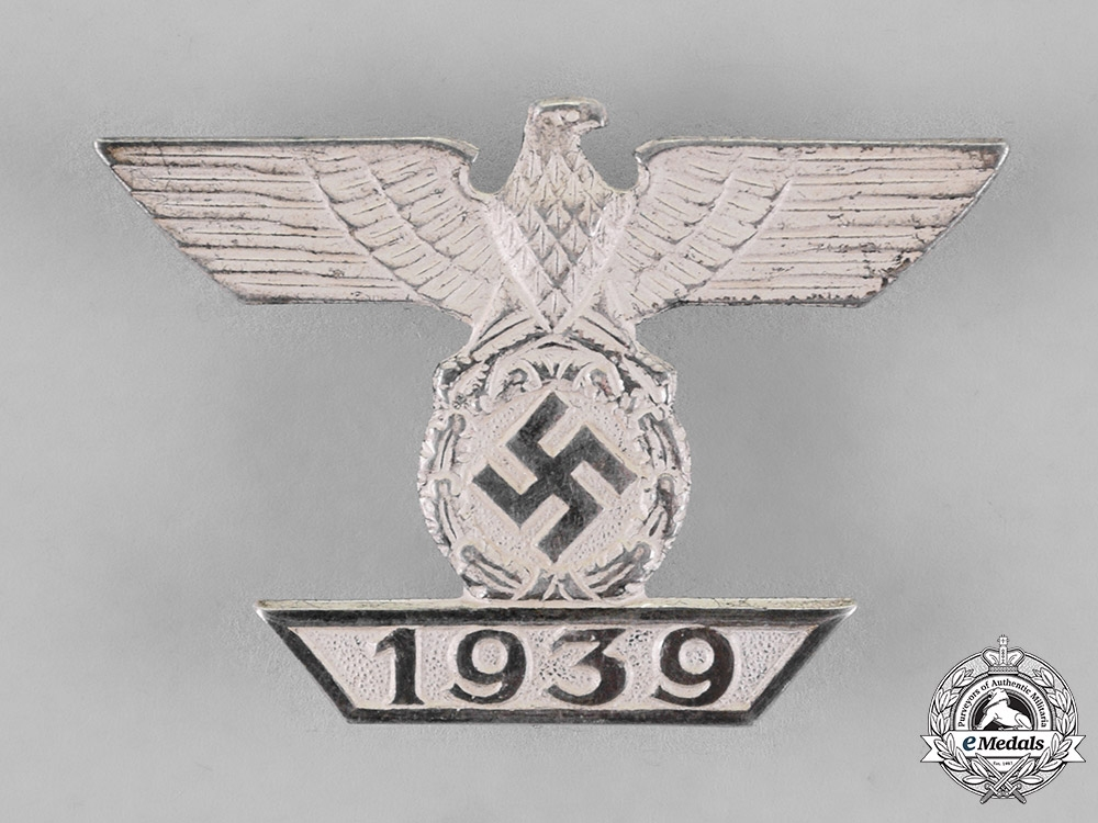 eMedals-Germany. A Clasp to the Iron Cross 1939 First Class, by B.H Mayer, Type-A