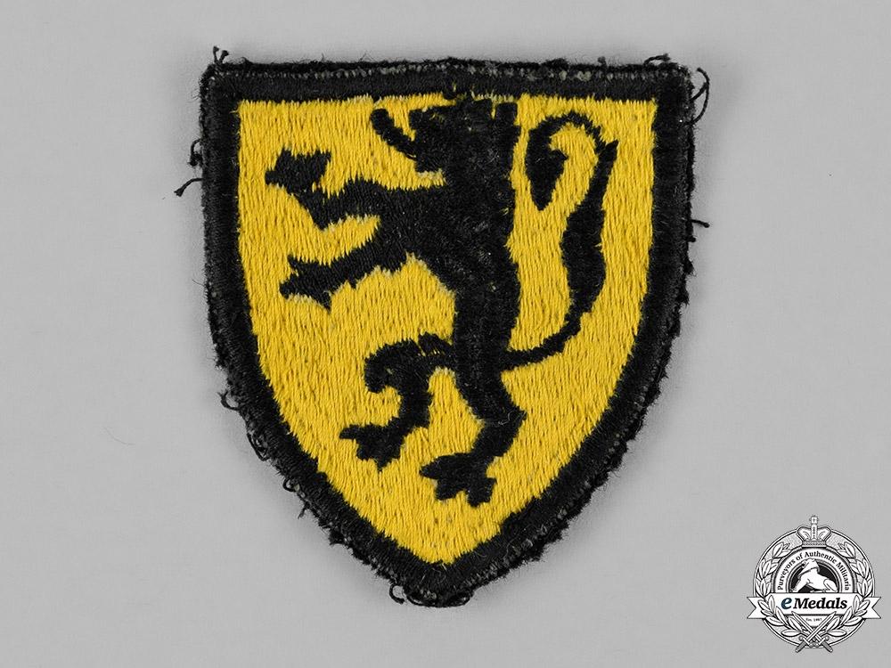 eMedals-Belgium. A Flemish Legion Sleeve Insignia