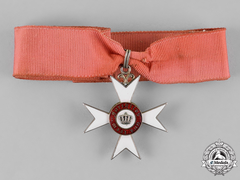 eMedals-Württemberg, Kingdom. An Order of the Württemberg Crown, Knight's Cross