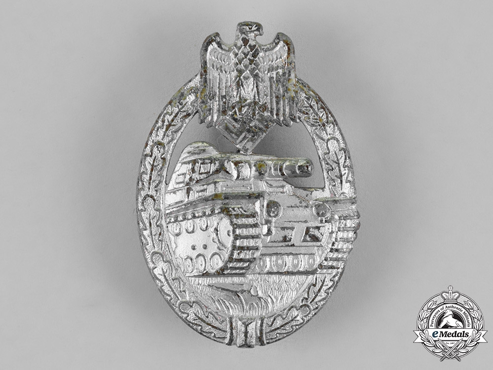 eMedals-Germany, Wehrmacht. A Tank Badge, Silver Grade