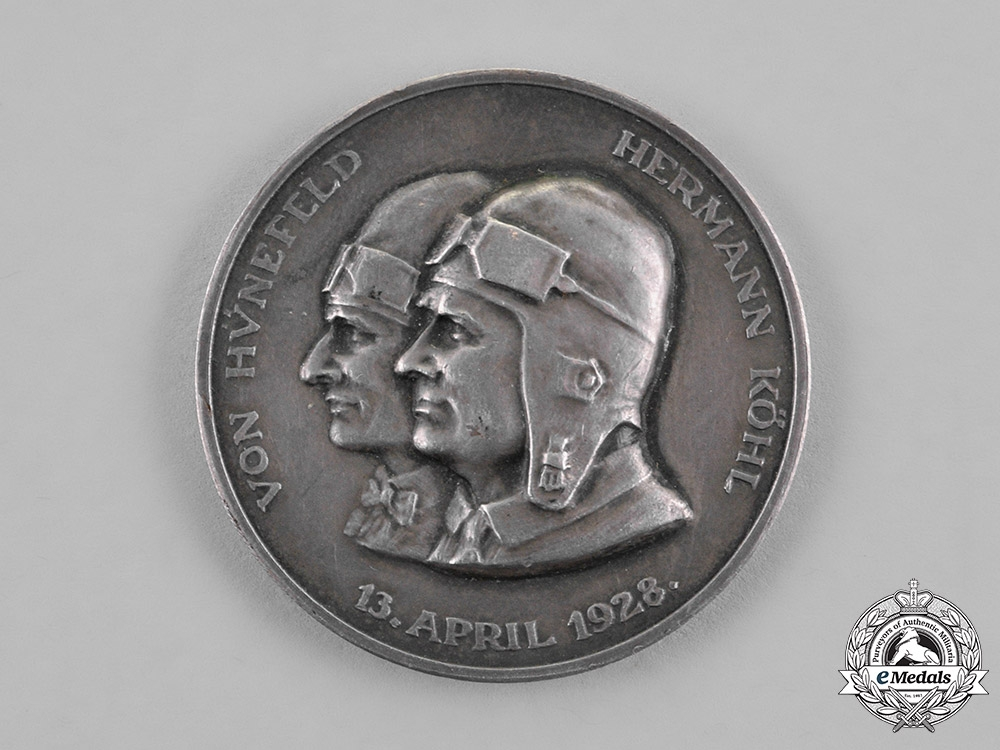 """eMedals-Germany, Republic. A Commemorative """"Maintaining Against All Odds"""" Medal"""