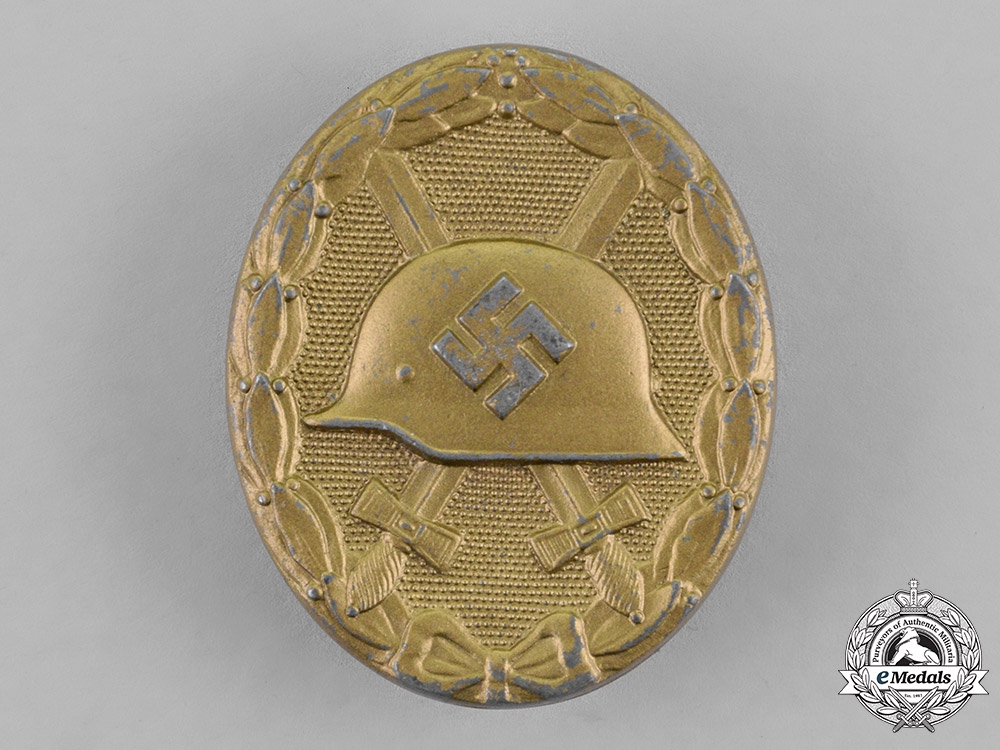 eMedals-Germany. A Wound Badge, Gold Grade