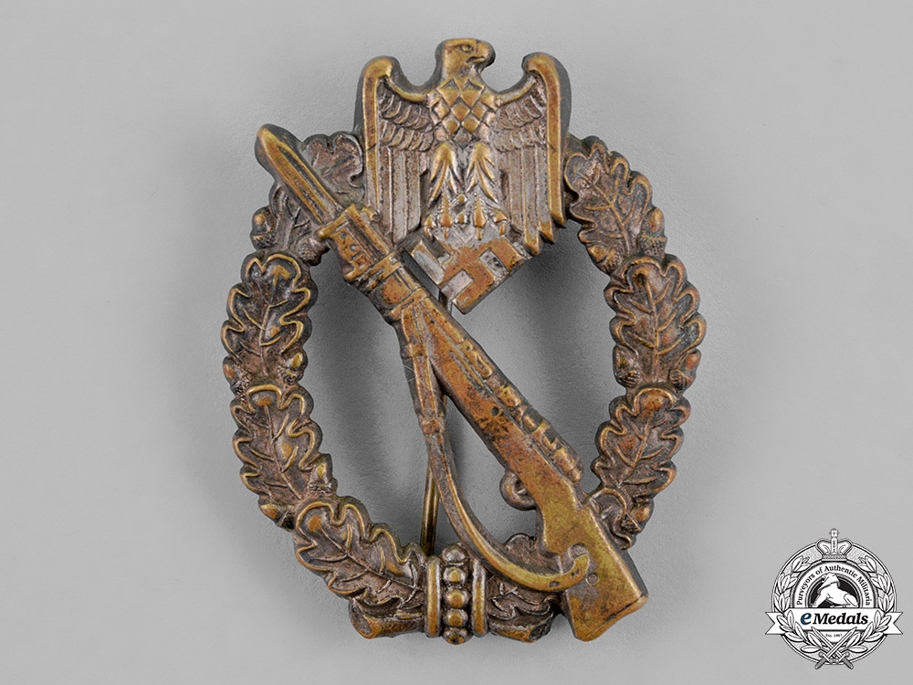 eMedals-Germany, Wehrmacht. An Infantry Assault Badge, Silver Grade