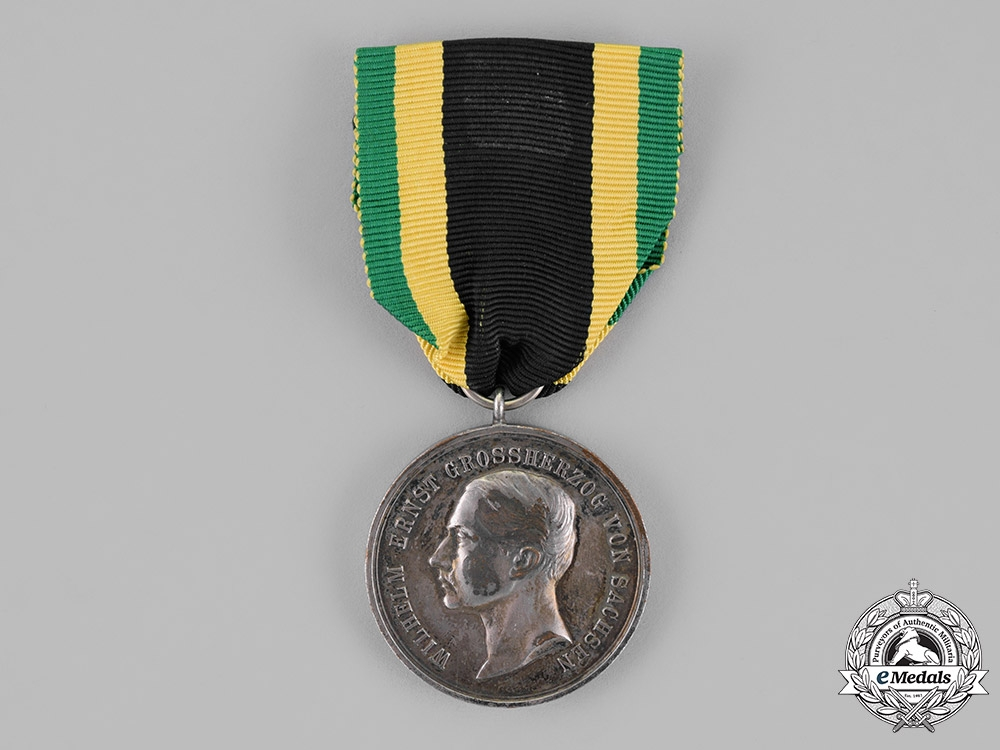 eMedals-Saxony, Kingdom. A General Wartime Merit Medal, in Silver