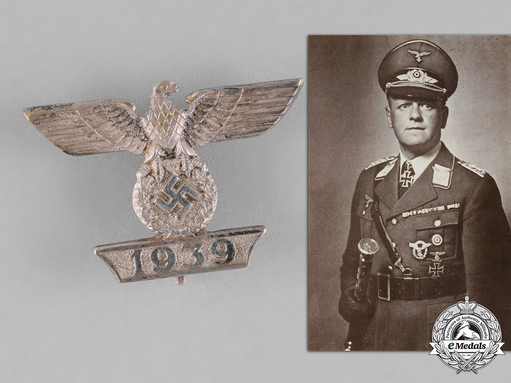 eMedals-Germany, Luftwaffe. A Clasp to the Iron Cross 1939 1st Class, General Field Marschall Milch